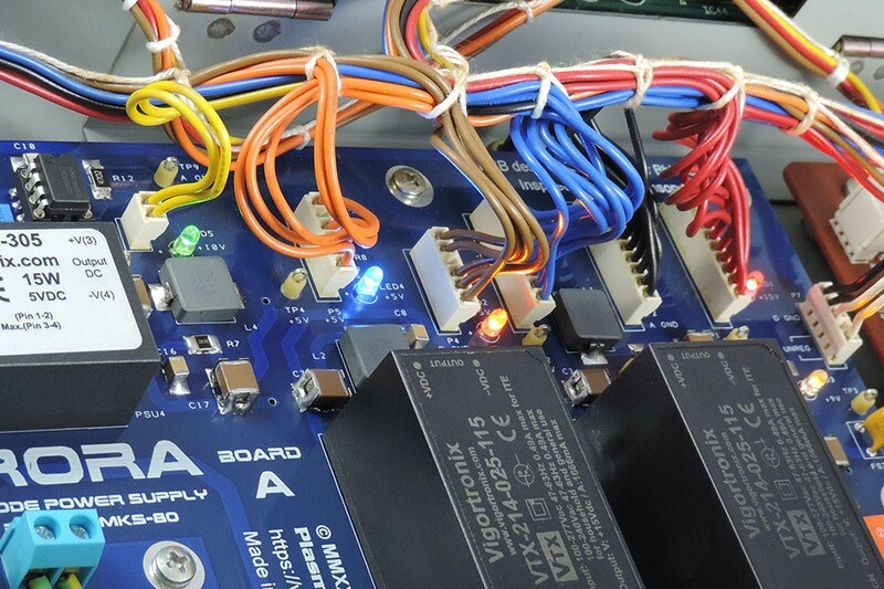 Installation of Aurora switched-mode power supply for Roland MKS-80