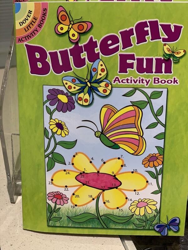 Children's Book Butterfly Fun Activity Book