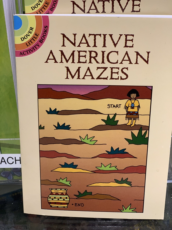 Children's Books Native American Mazes