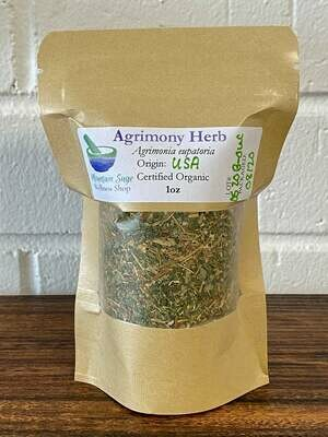 Agrimony Herb ∣ Certified Organic