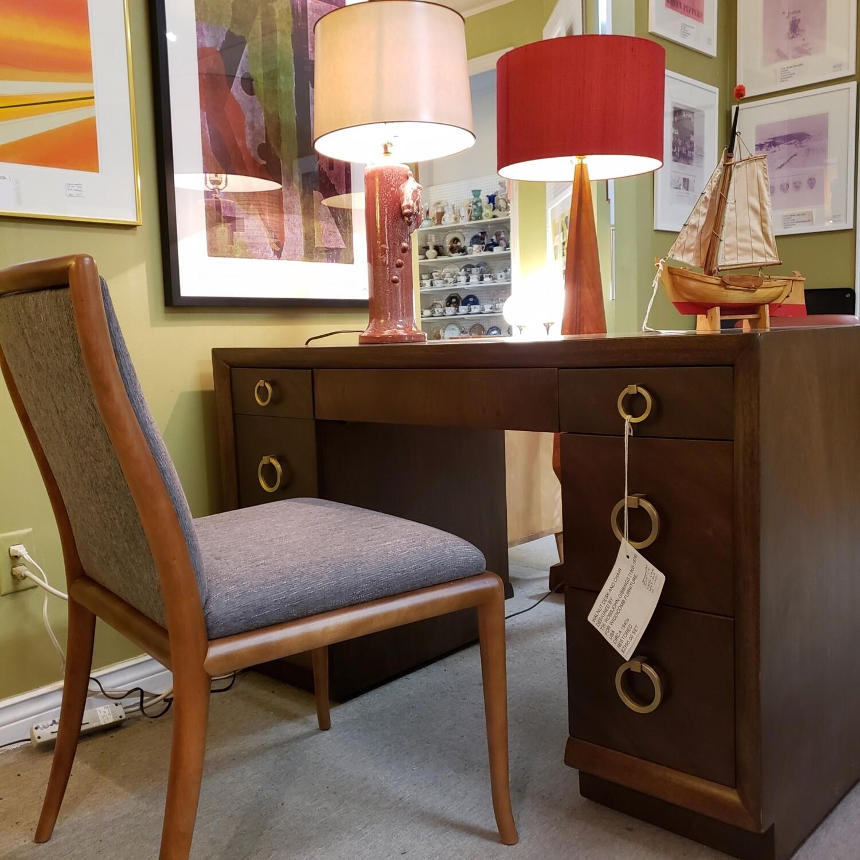 Walnut Desk & Chair