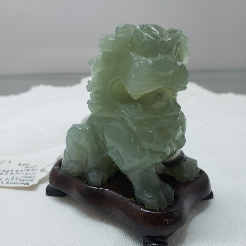 Chinese hardstone dog figure