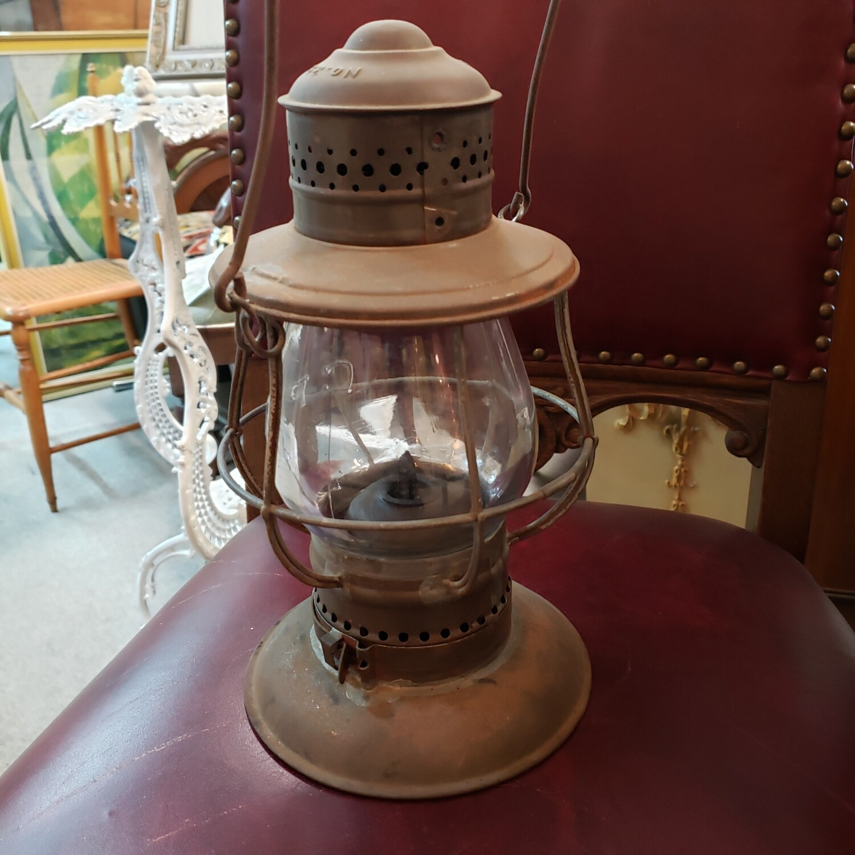 CPR ham tall globe, bell bottom lantern