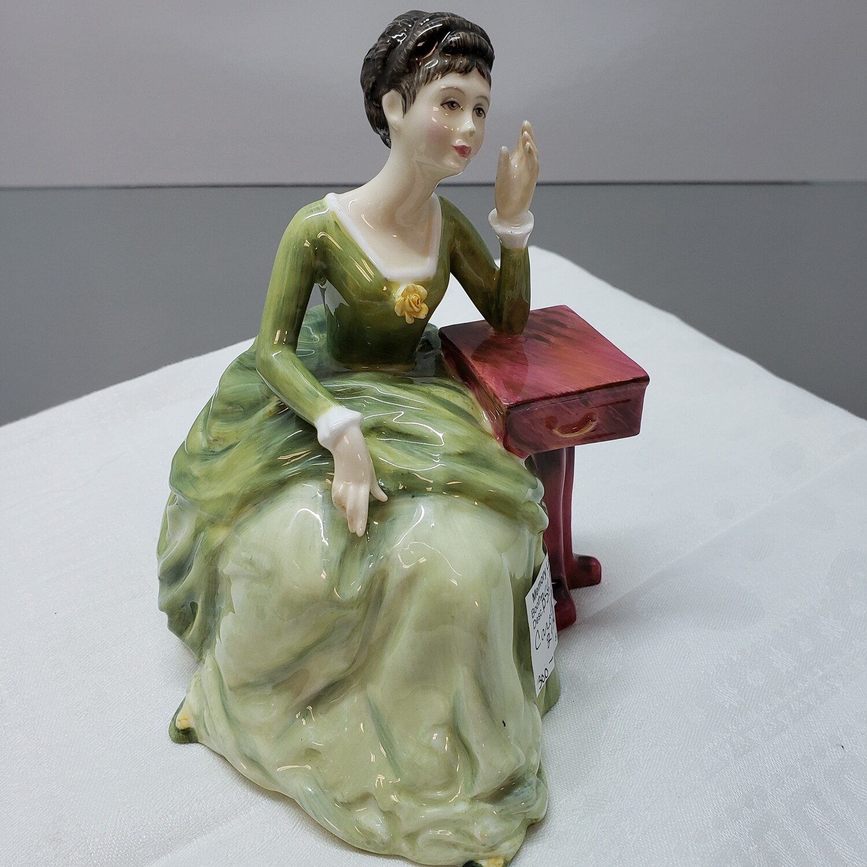 Vtg Royal Doulton Carolyn Figurine, HN2974
