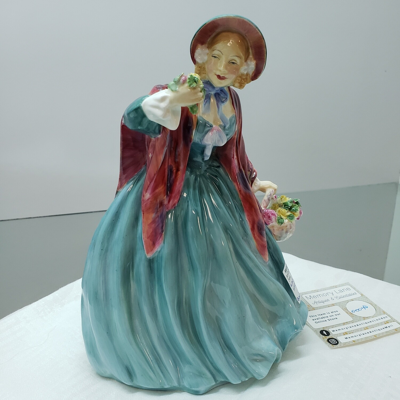 "Royal Doulton English Porcelain Figurine ~ ""Lady Charmian"" ~ HN 1948"