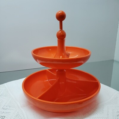 2 tier Emsa Snack bowl (Germany)