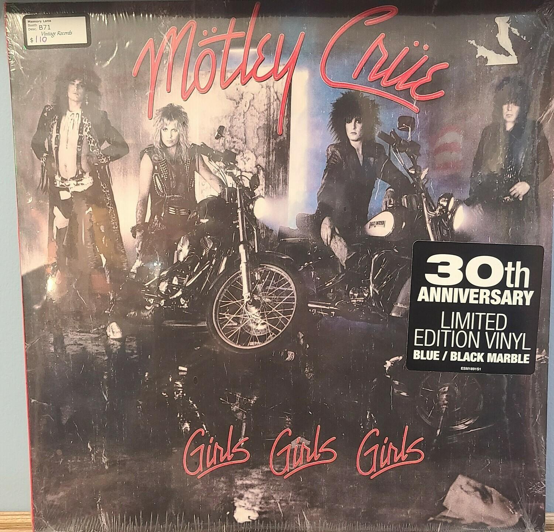 Motley Crew - LP - Girls Girls Girls