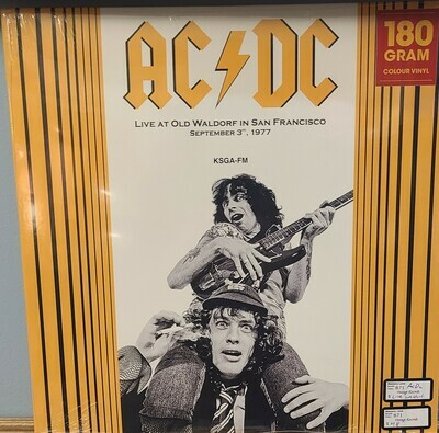 ACDC - LP - Live from the Waldorf
