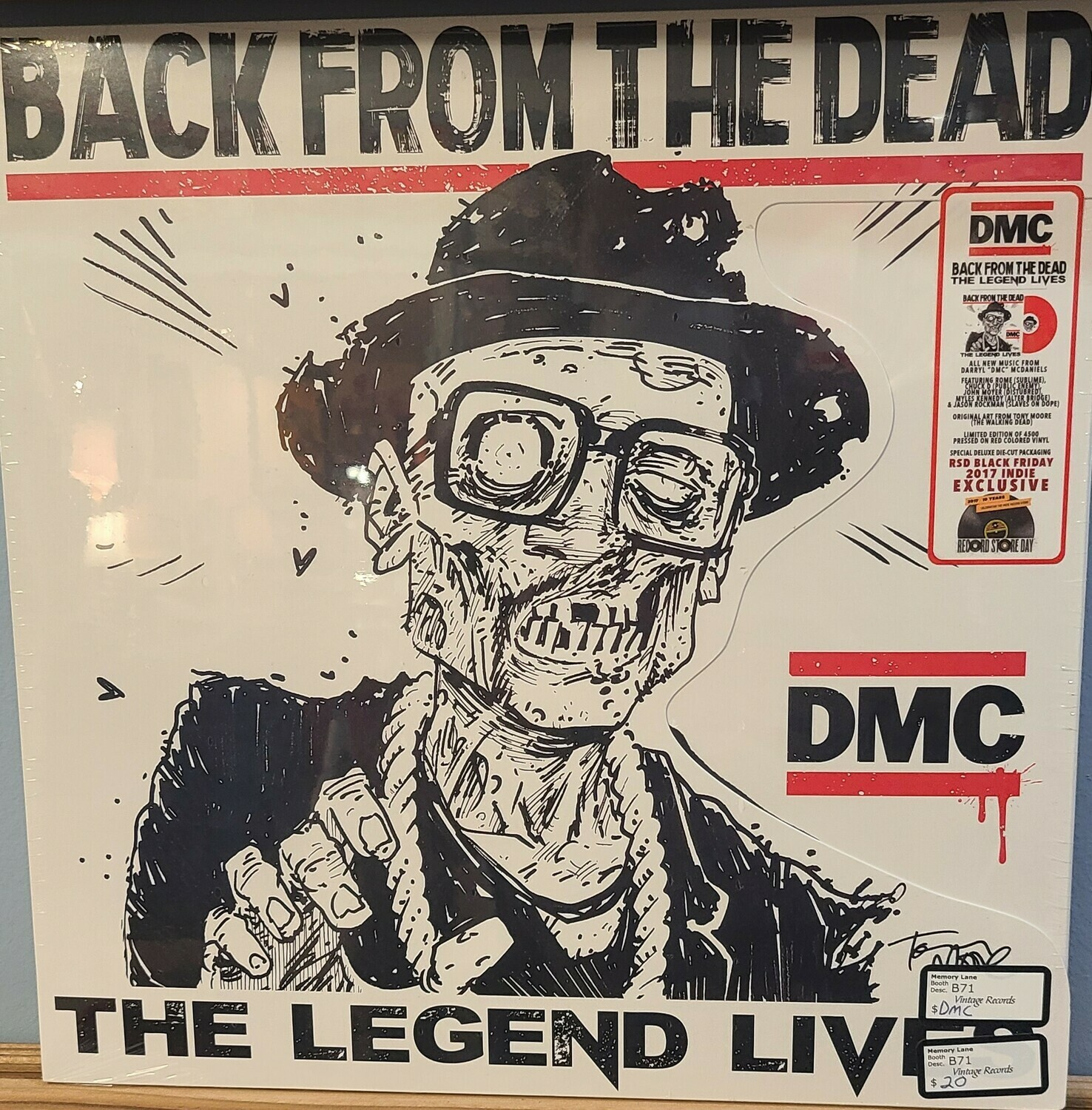 DMC - LP - Back From The Dead