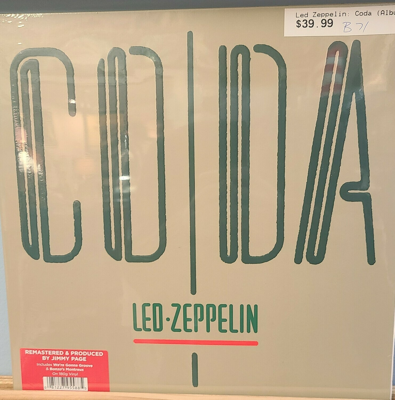 Led Zeppelin - LP - CODA