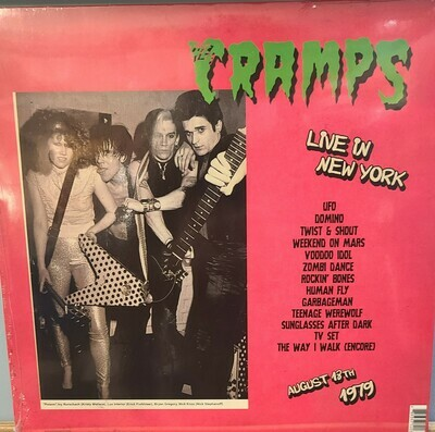 Cramps - LP - Live In New York