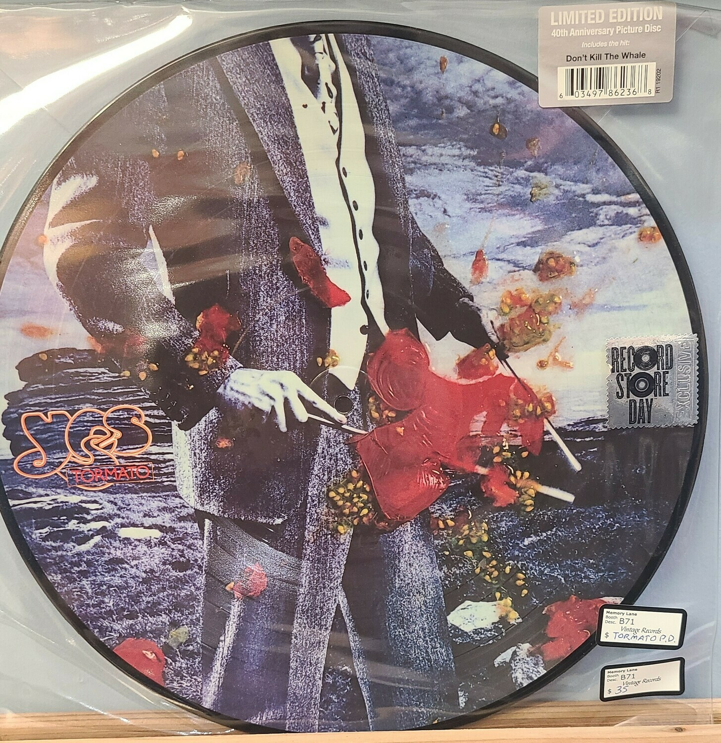Yes - Don't kill the whale - LP -