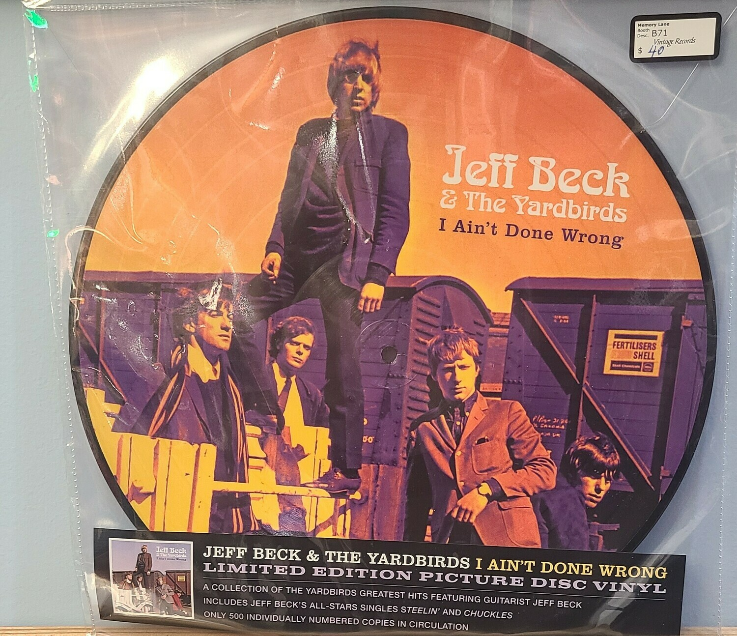 Jeff Beck - LP -  I ain't Done Wrong