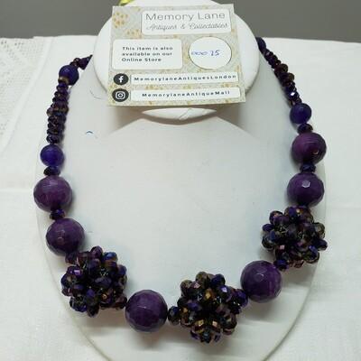 Czech Crystal purple
