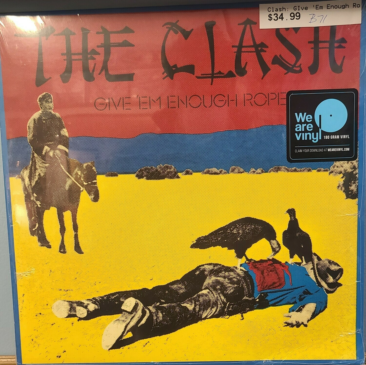 The Clash - LP - Give Em Enough Rope