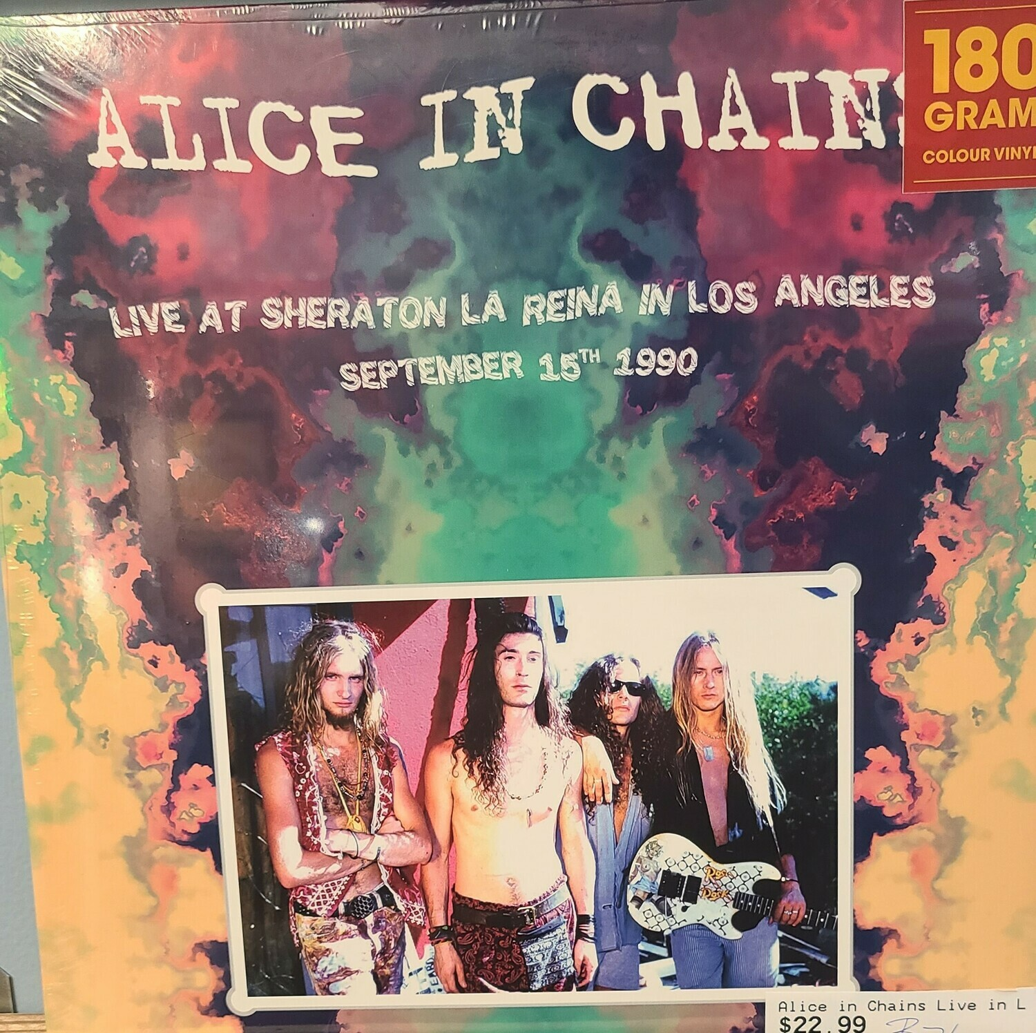 Alice In Chains -  LP - Live at Sheraton