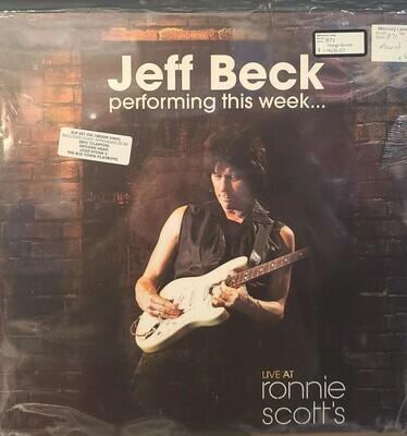 Jeff Beck - Performing this week -  LP