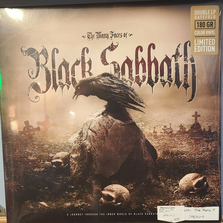 Black Sabbath  - LP - Many Faces