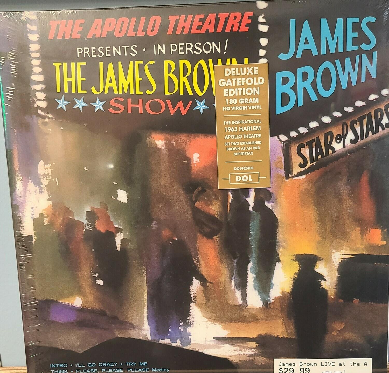 James Brown - LP - Live at the Apollo