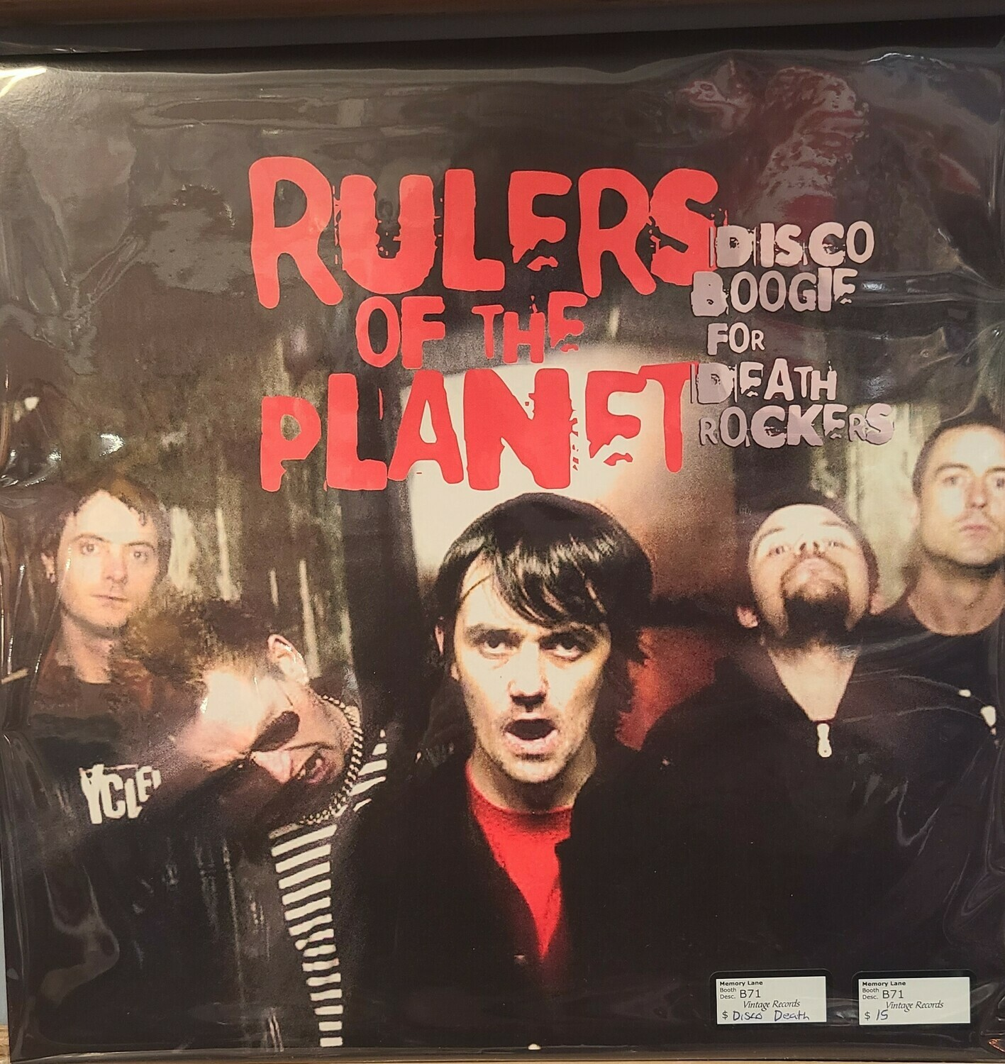 Rulers of The Planet - LP - Disco Boogie for death Rockers