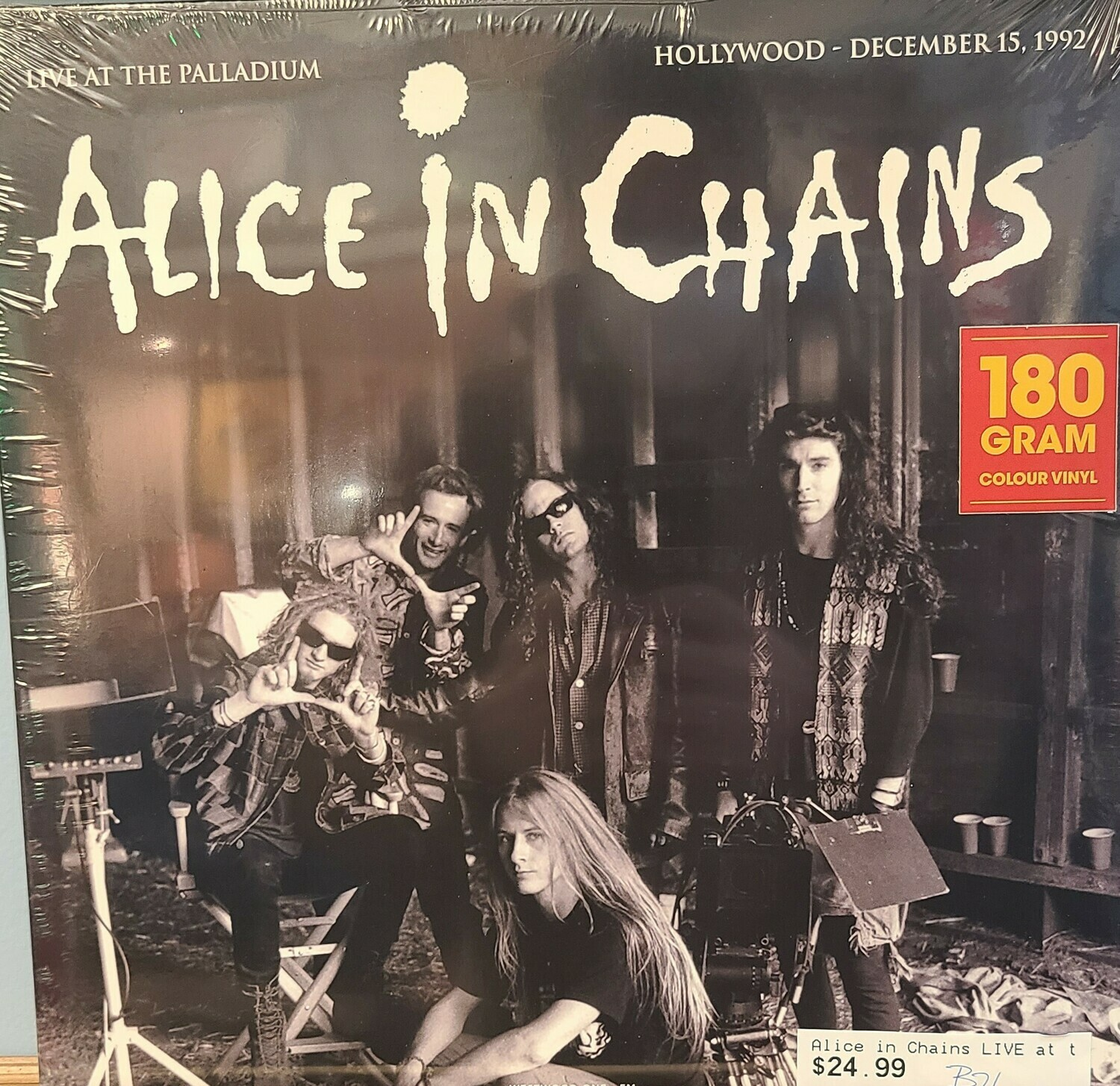 Alice In Chains - LP - Live at the Palladium