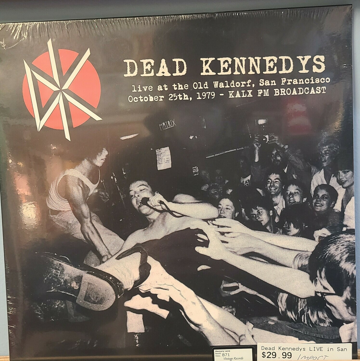 Dead Kennedys - LP - Live at the Old Waldorf