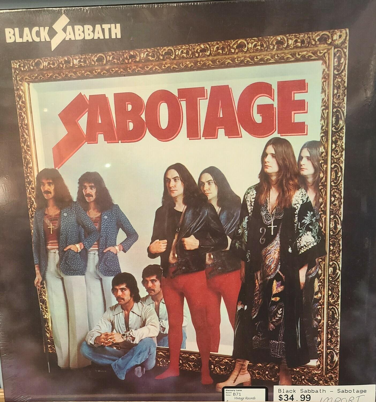Black Sabbath - LP - Sabotage