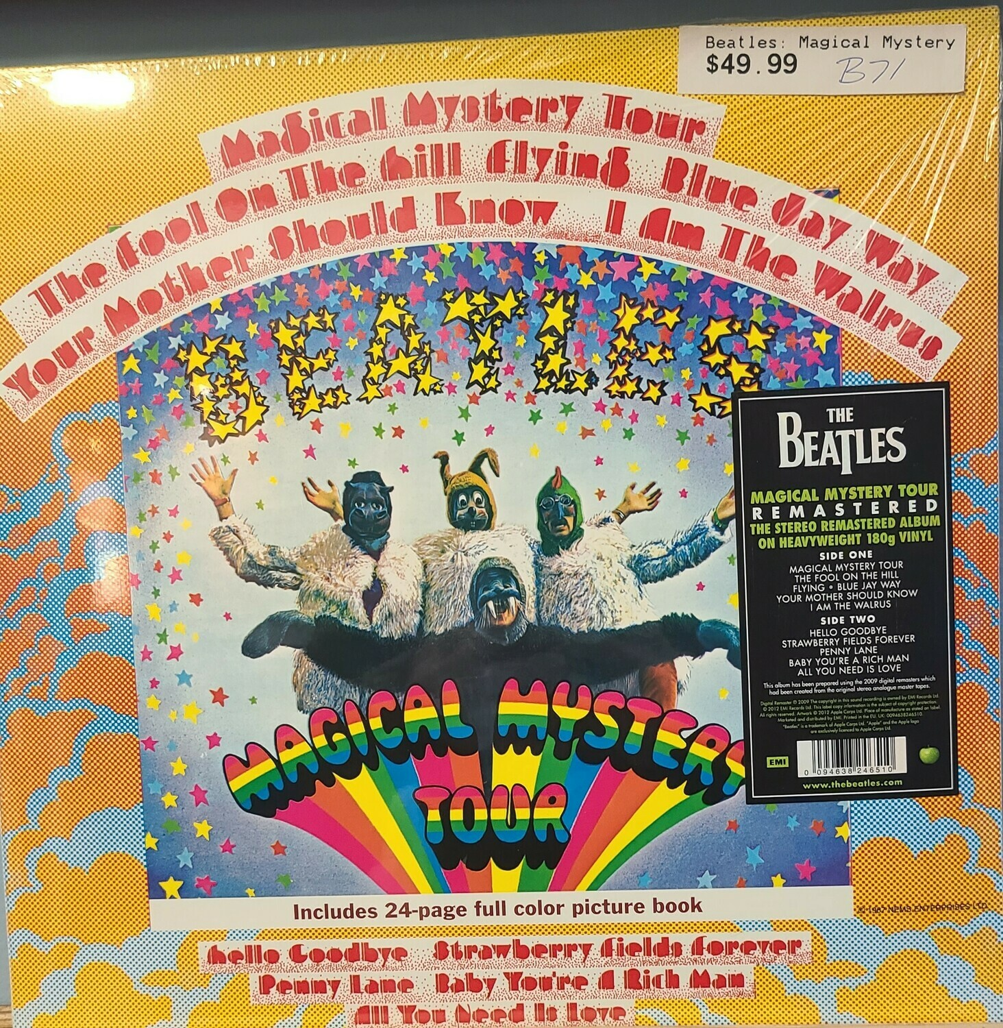 Beatles - LP - Magical Mystery Tour
