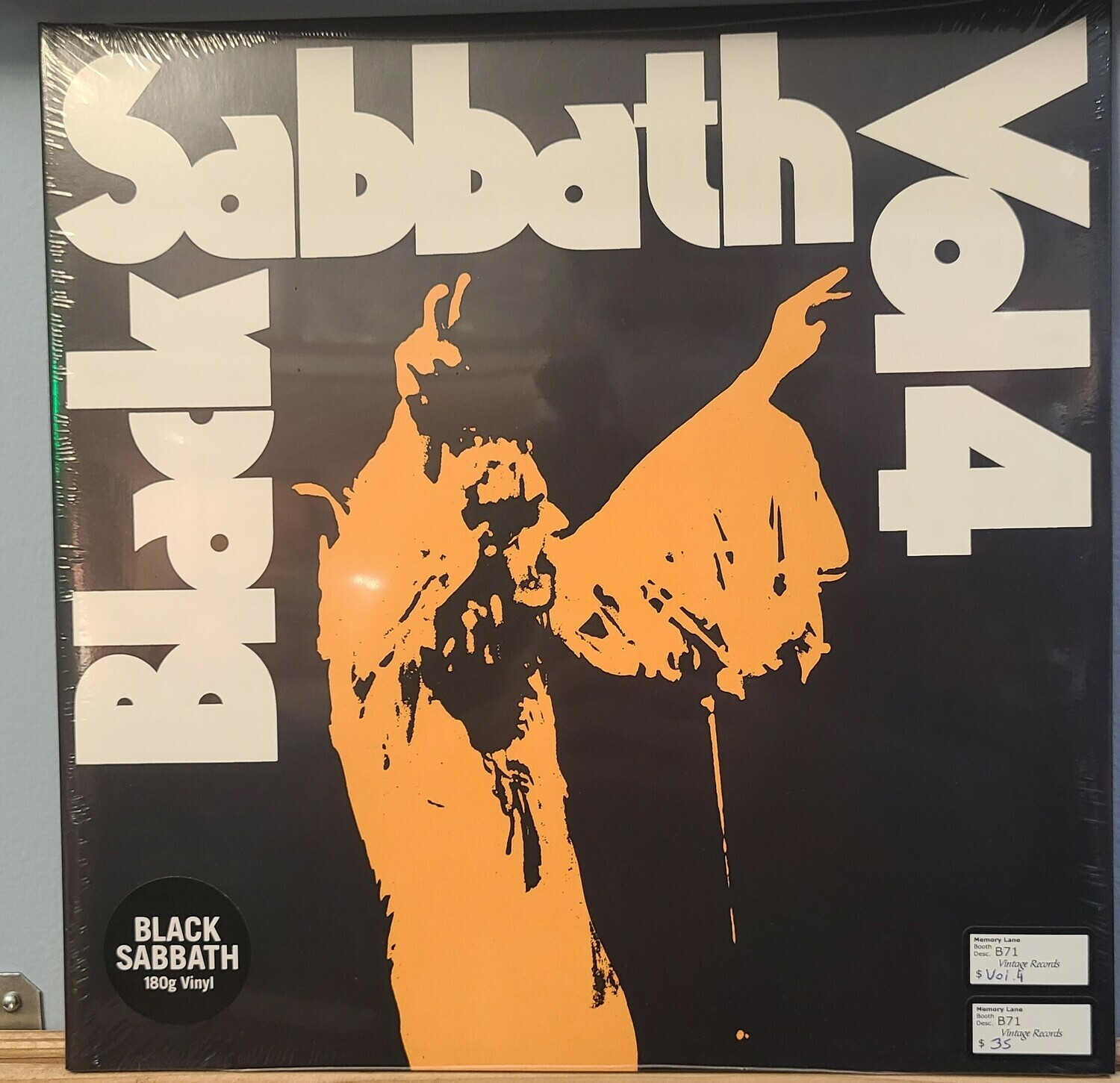 Black Sabbath- LP - Vol 4