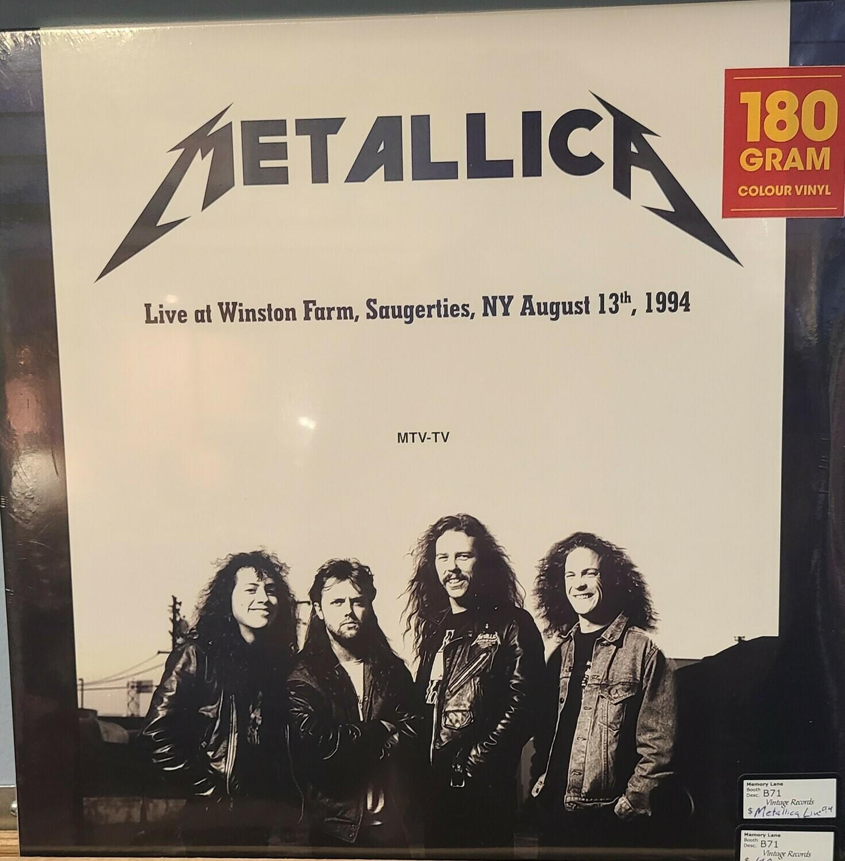 Metallica- LP - Live at Winston farm