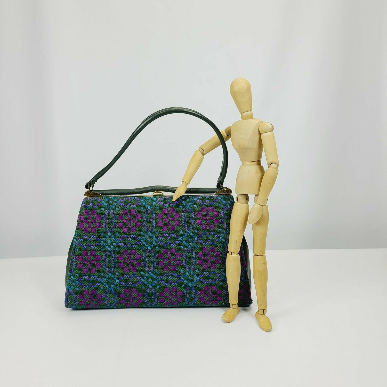 Early - Mid 1960s Welsh Wool Tapestry  Handbag - Purse