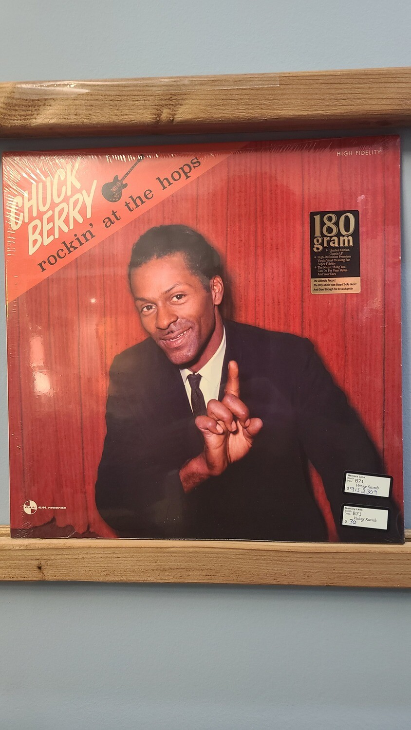 Chuck Berry- LP - Rockin at the Hops