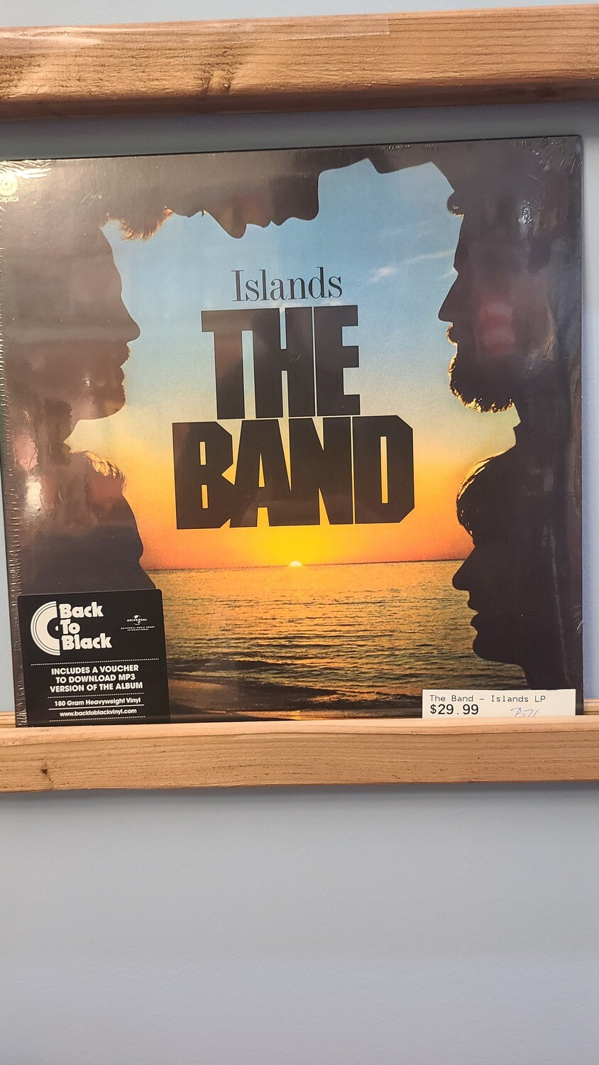 The Band- LP - Islands
