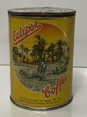 Rare Eclipse Coffee Tin