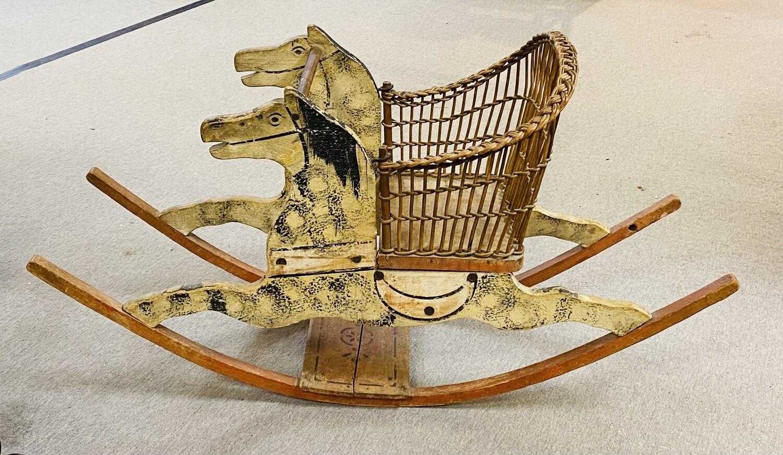 Shoo Fly Rocking Horse Toddler Rocking Horse - Booth V94