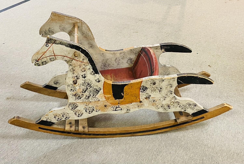Shoo Fly Rocking Horse Toddler Rocking Horse - 1910  - Booth V94