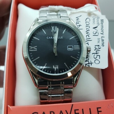 Wrist Watch - Caravelle Stainless steel - Men's - Booth V51