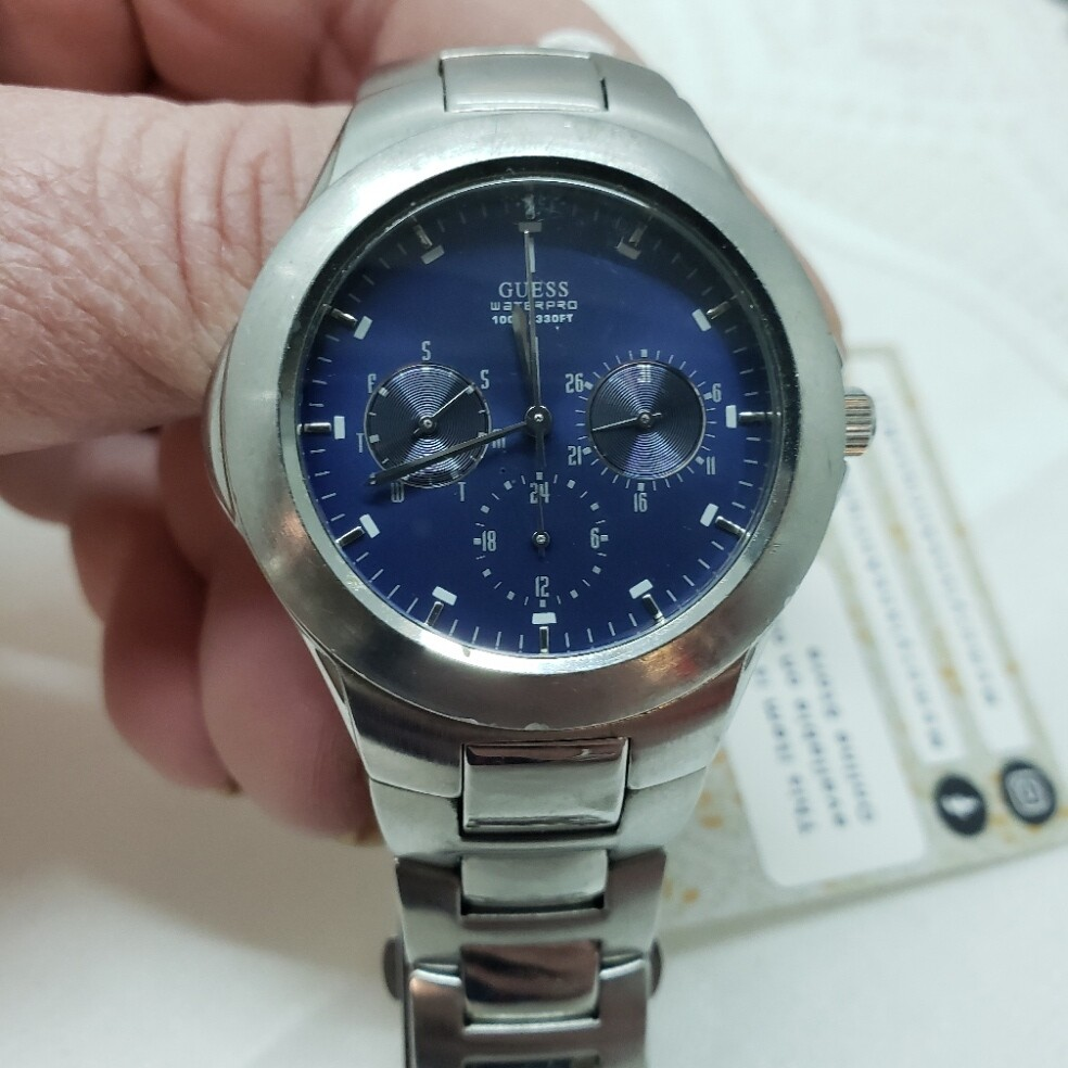 Wrist Watch - Guess - Men's - Booth V51