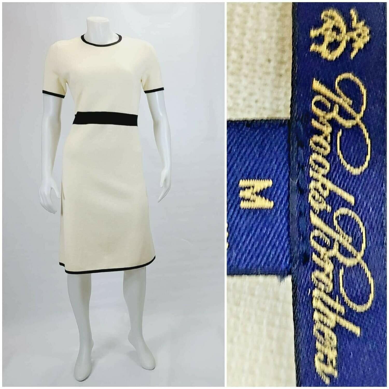 Brooks Brothers Merino Wool Shift Dress