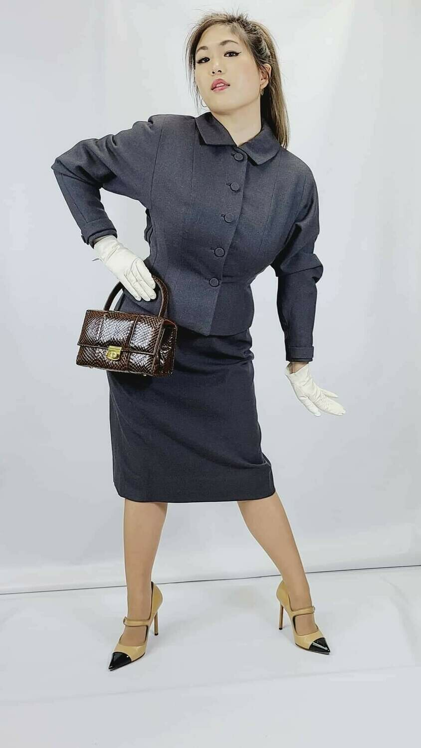 Early - Mid 1950s 2pc Tailored Day Suit