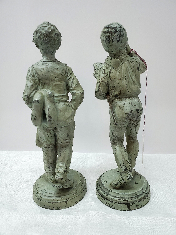 19th Century Statues - Chimney Sweep & Cobbler - B34