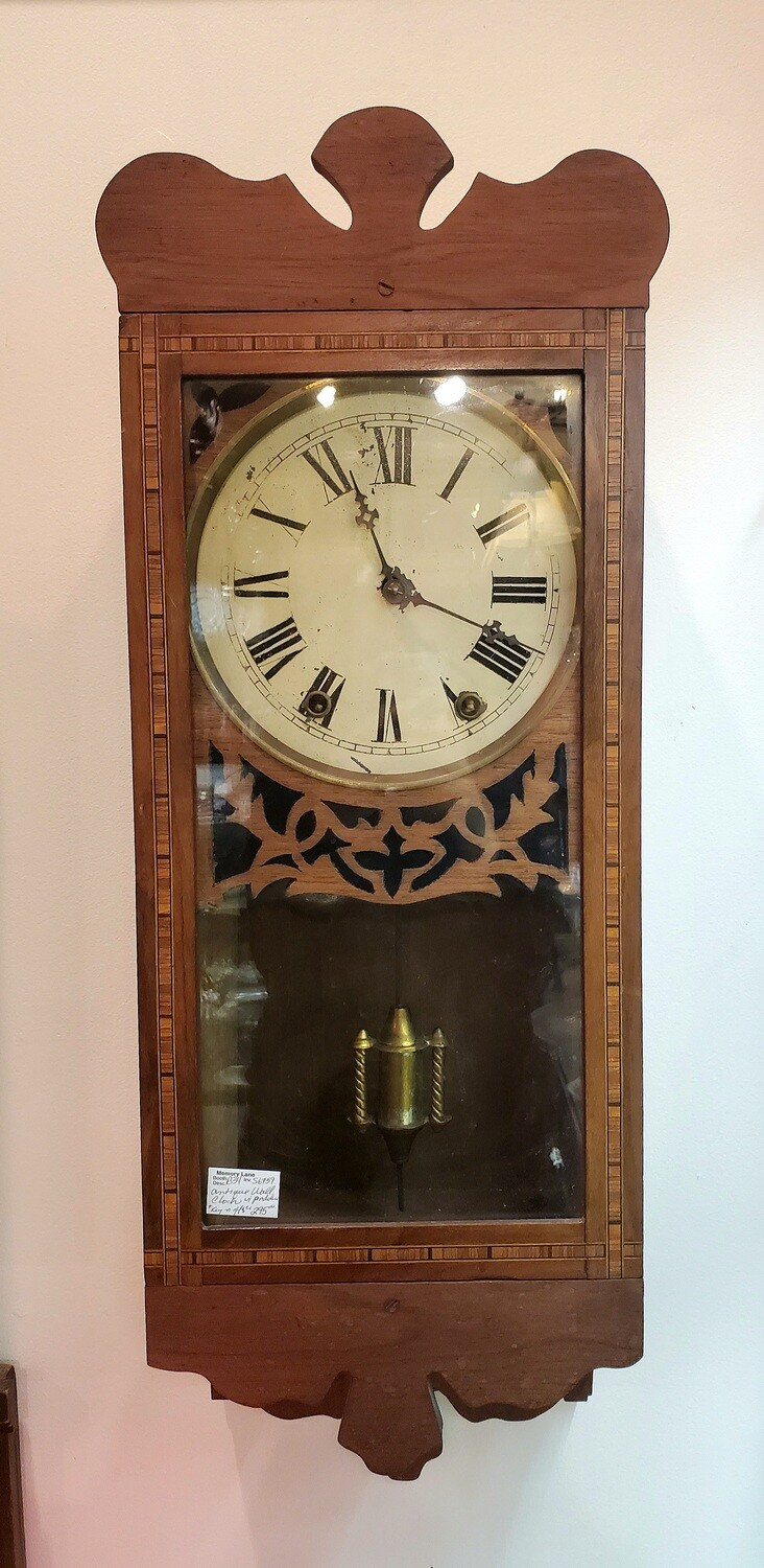 Antique Wall Clock - B34
