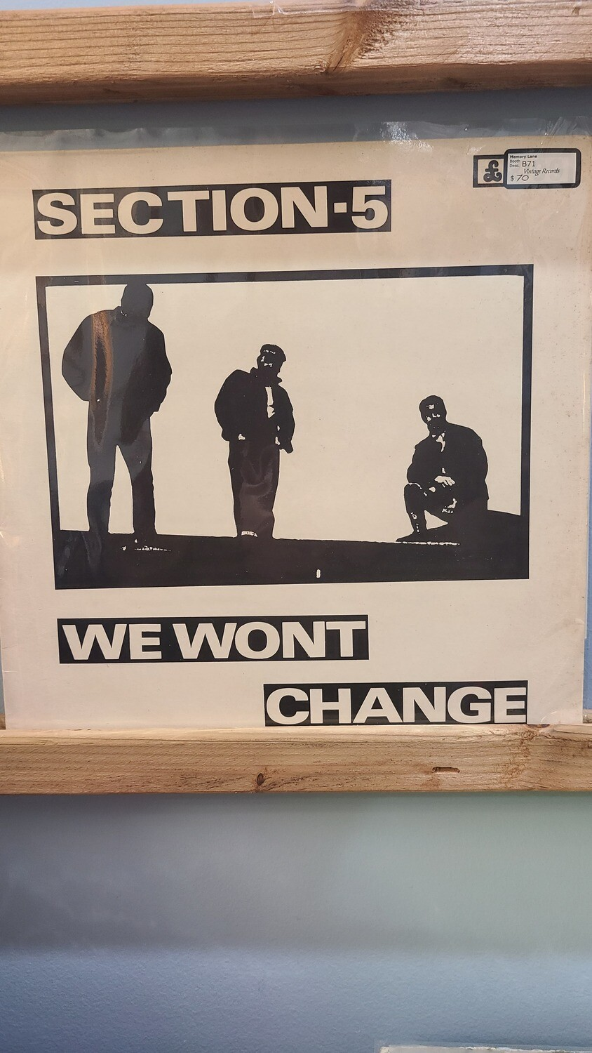 Section5 - We Wont Change