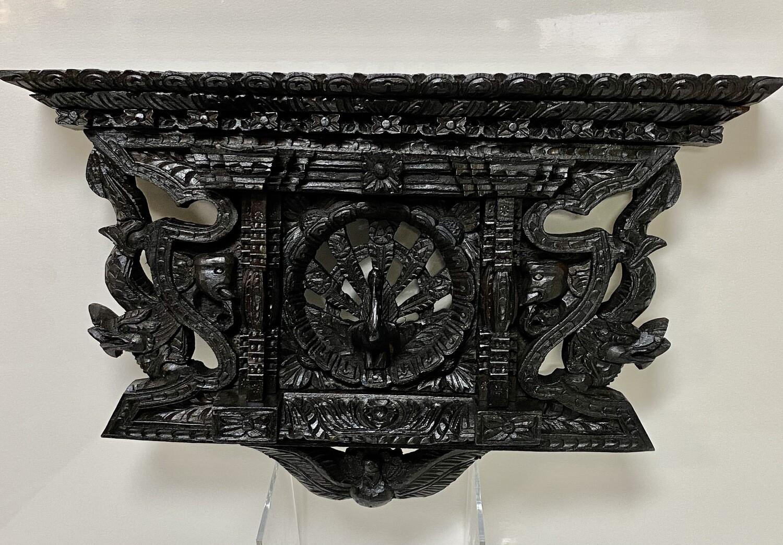 Beautiful Ornate Wood Carving - Wall Hanging