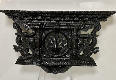Beautiful Ornate Wood Carving - Wall Hanging