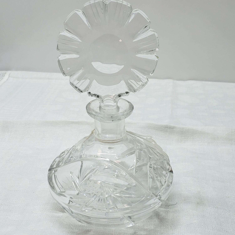 Pinwheel Perfume bottle with stopper