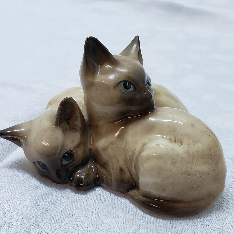 Beswick Siamese Kittens Figurine