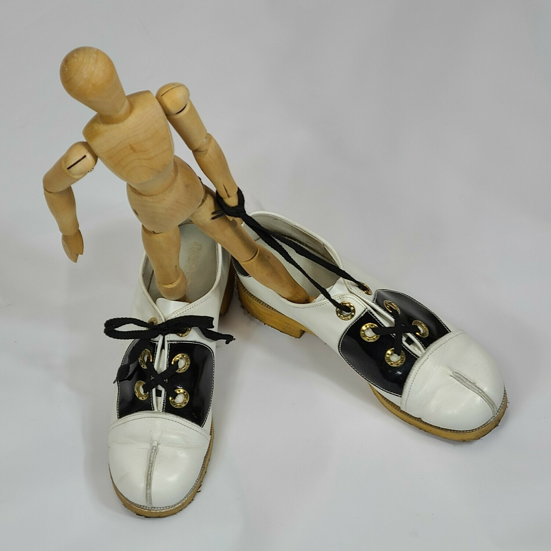 1970s MOD does 1930s Saddle Shoes