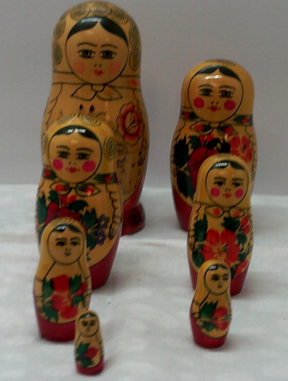 Matryoshka doll - Russian Nesting Doll