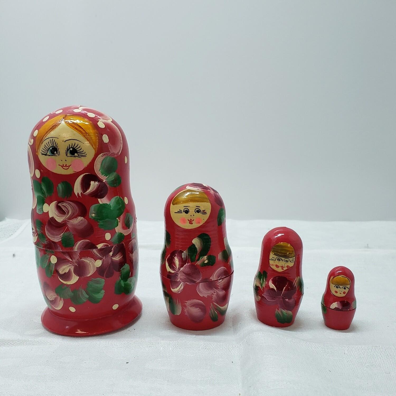 Matryoshka doll - Stacking Dolls - 4 dolls
